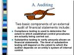 a auditing