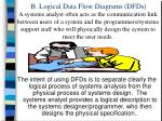 b logical data flow diagrams dfds