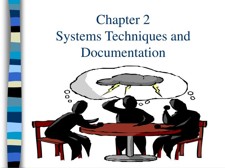 chapter 2 systems techniques and documentation n.