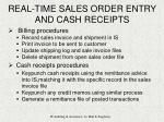 real time sales order entry and cash receipts12