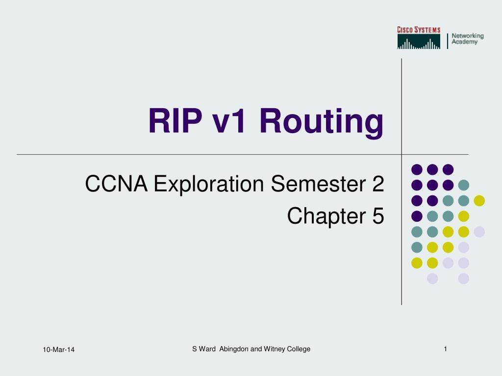 rip v1 routing l.