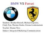 bmw vs ferrari