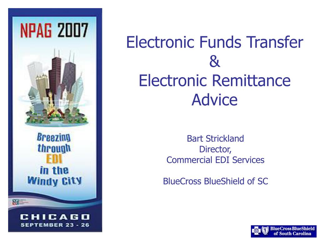 electronic funds transfer electronic remittance advice l.