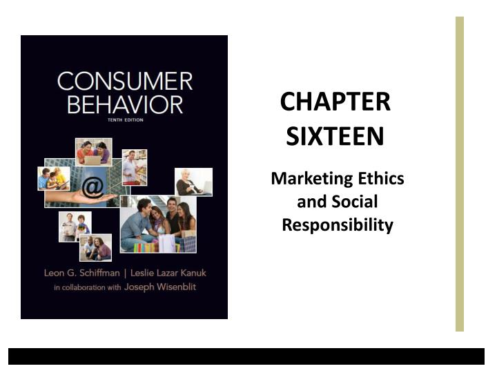 marketing ethics and social responsibility n.