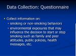 data collection questionnaire