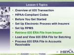 lesson 5 topics5