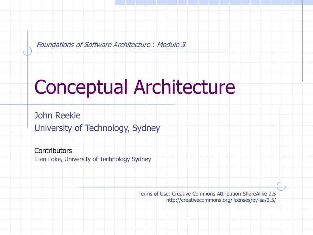 conceptual architecture l.