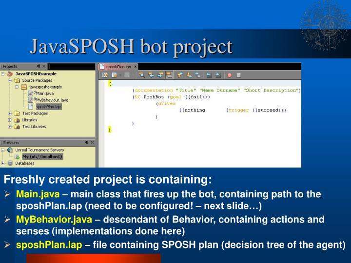 Javasposh bot project3