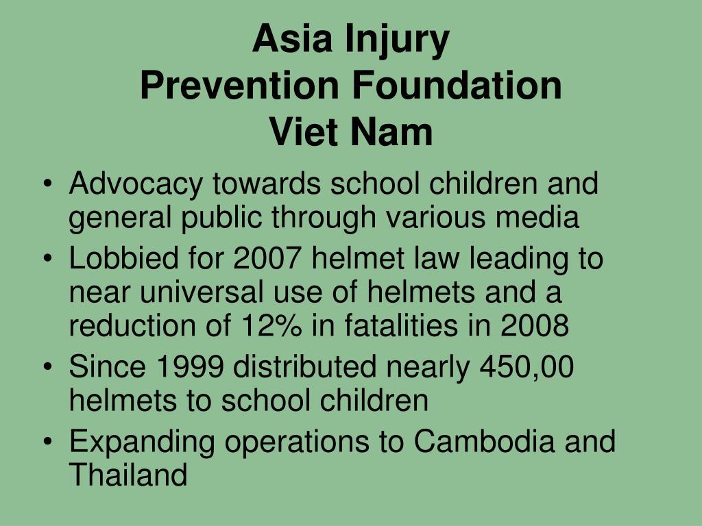 Asia Injury