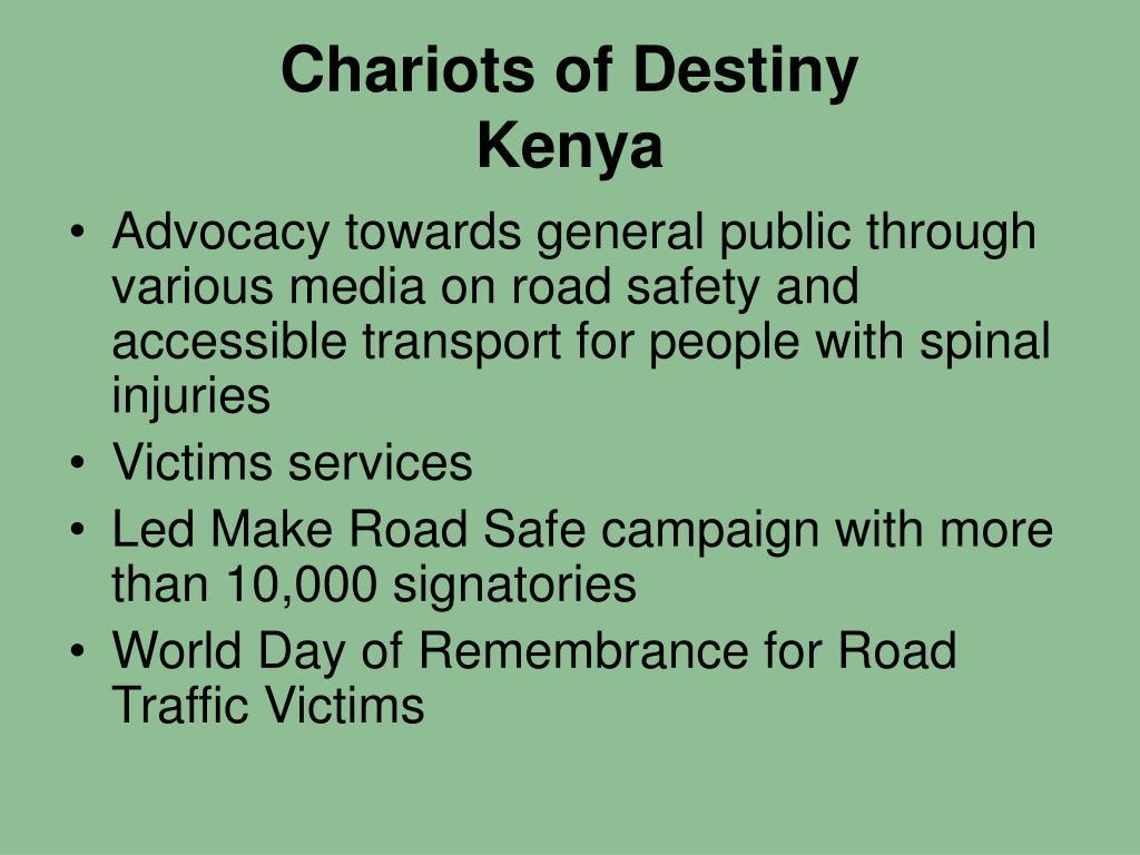 Chariots of Destiny