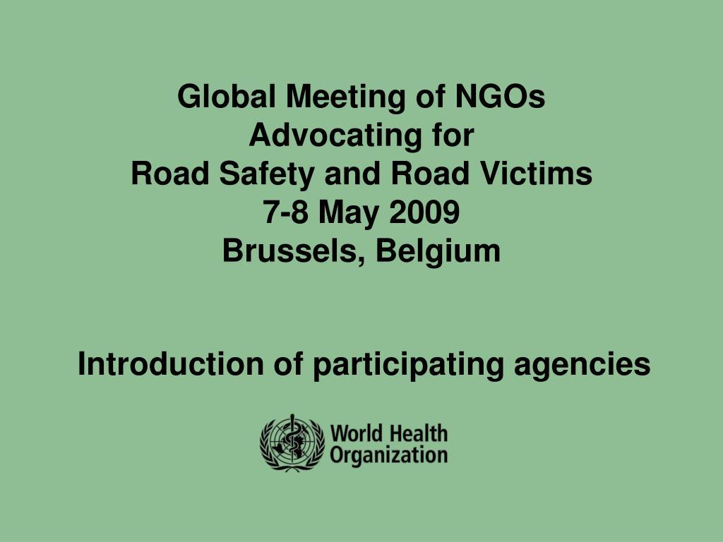 Global Meeting of NGOs