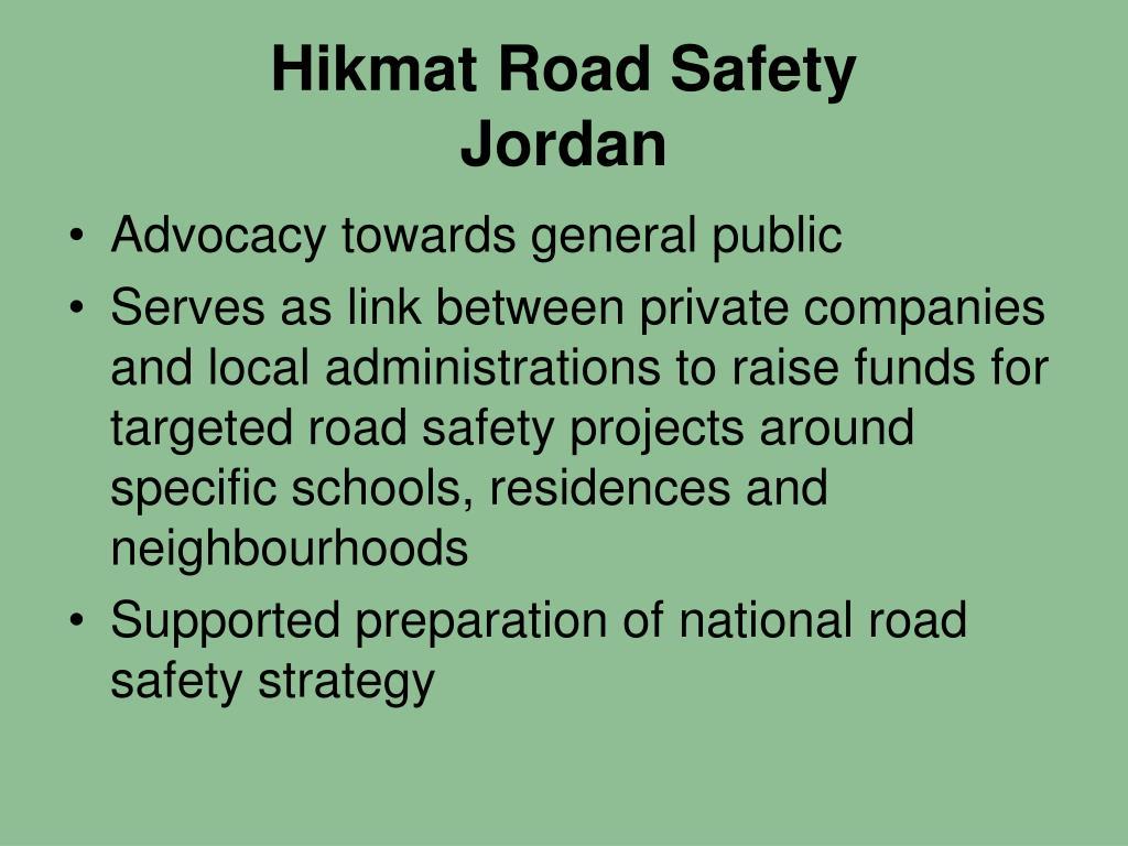 Hikmat Road Safety