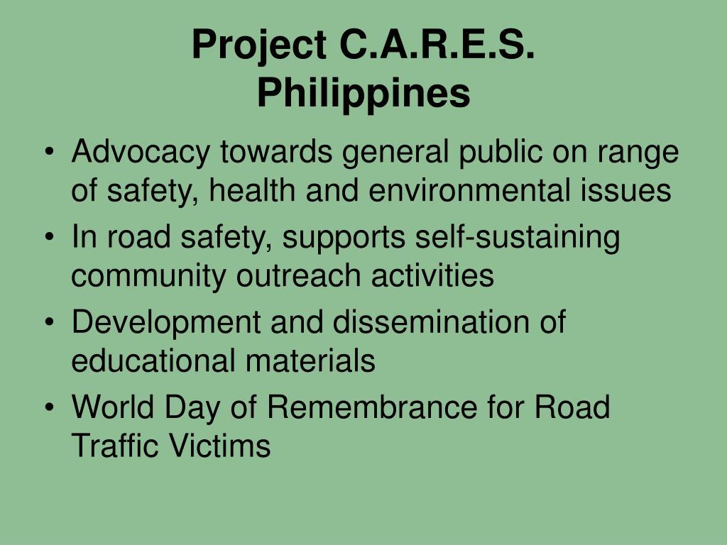 Project C.A.R.E.S.