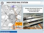 high speed rail station