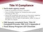 title vi compliance