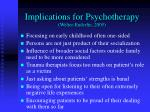 implications for psychotherapy welter enderlin 2005