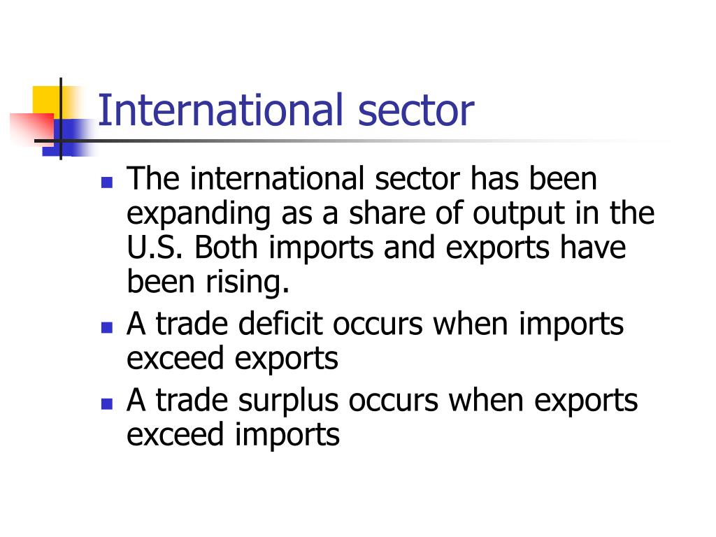 International sector