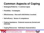 common aspects of coping