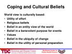 coping and cultural beliefs