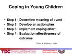 coping in young children31