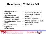 reactions children 1 5