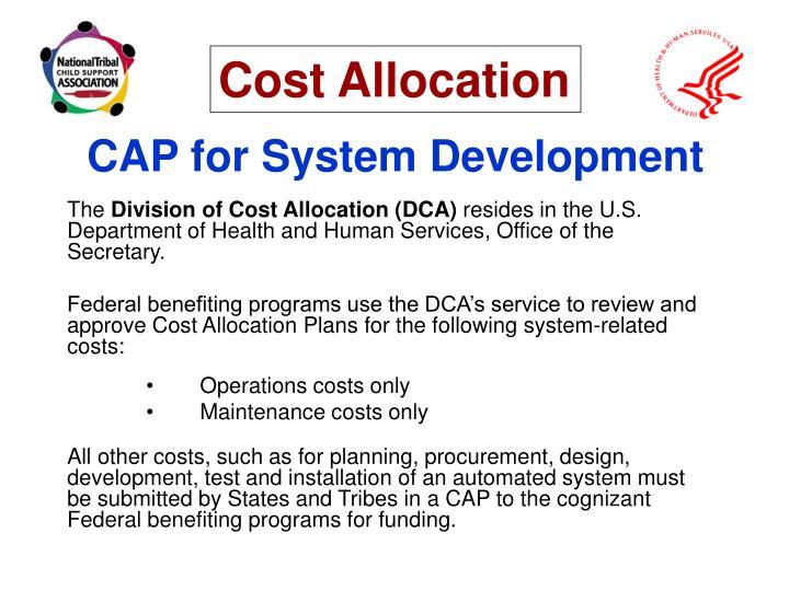 CAP for System Development