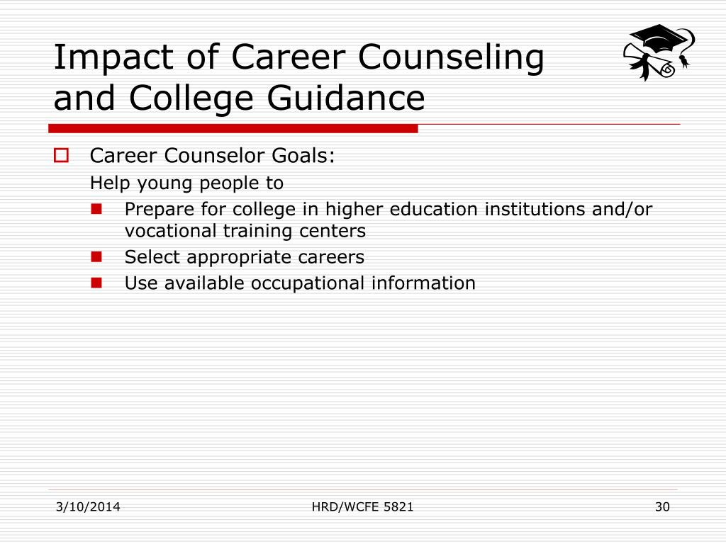 Impact of Career Counseling and College Guidance