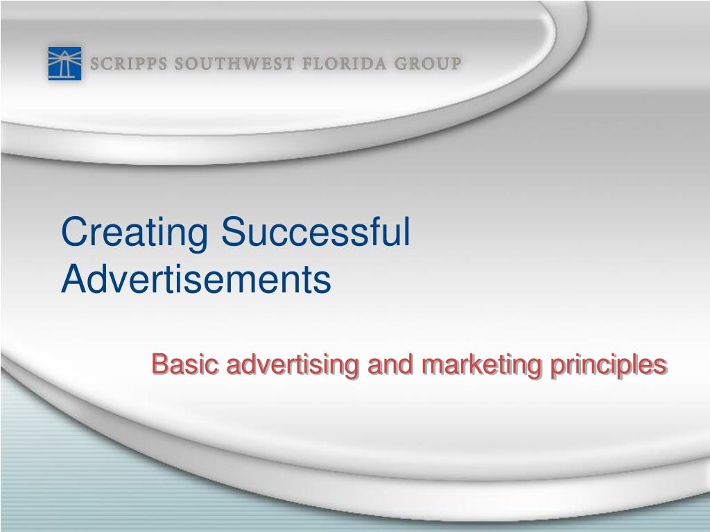 creating successful advertisements l.