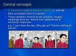 central concepts12