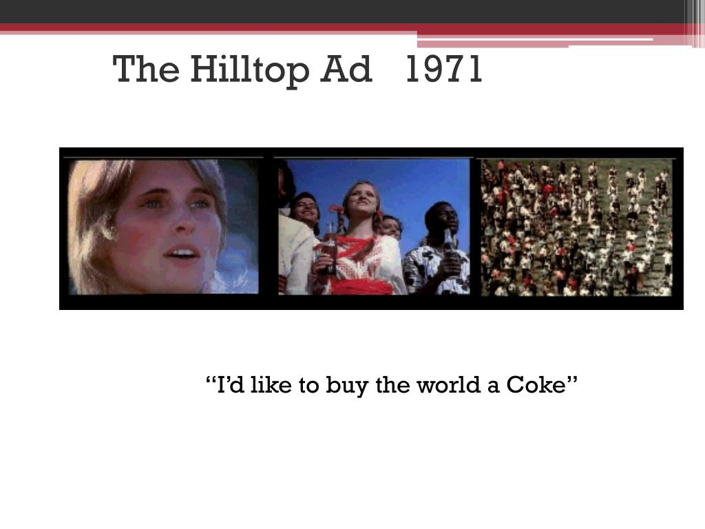 The Hilltop Ad   1971