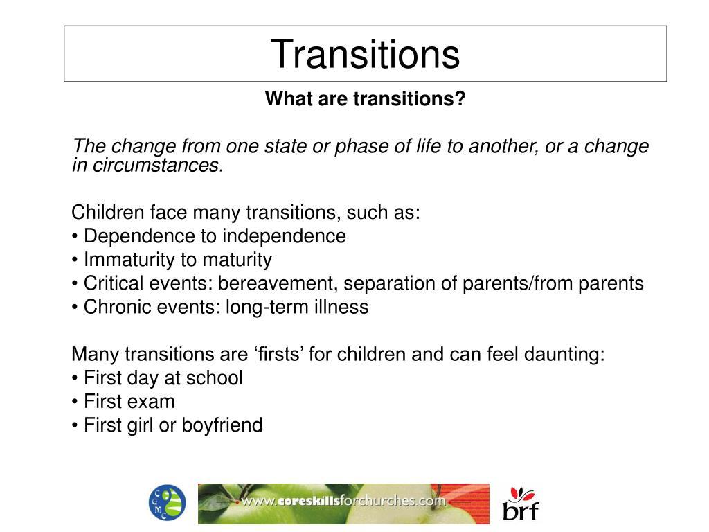transitions l.