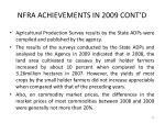 nfra achievements in 2009 cont d26