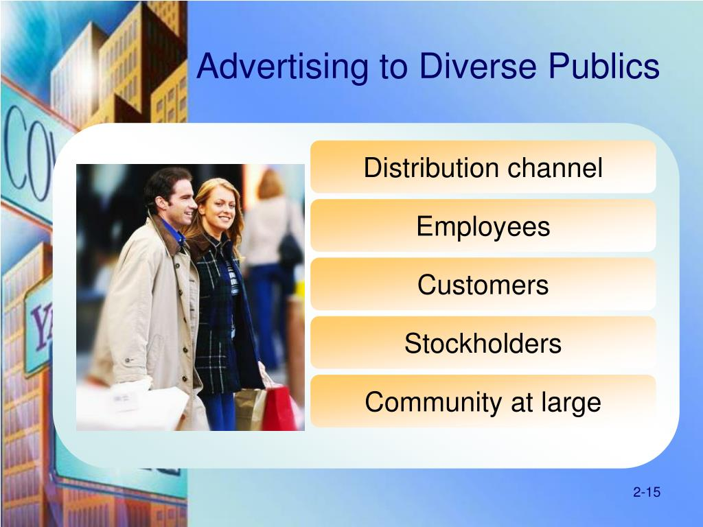 Advertising to Diverse Publics