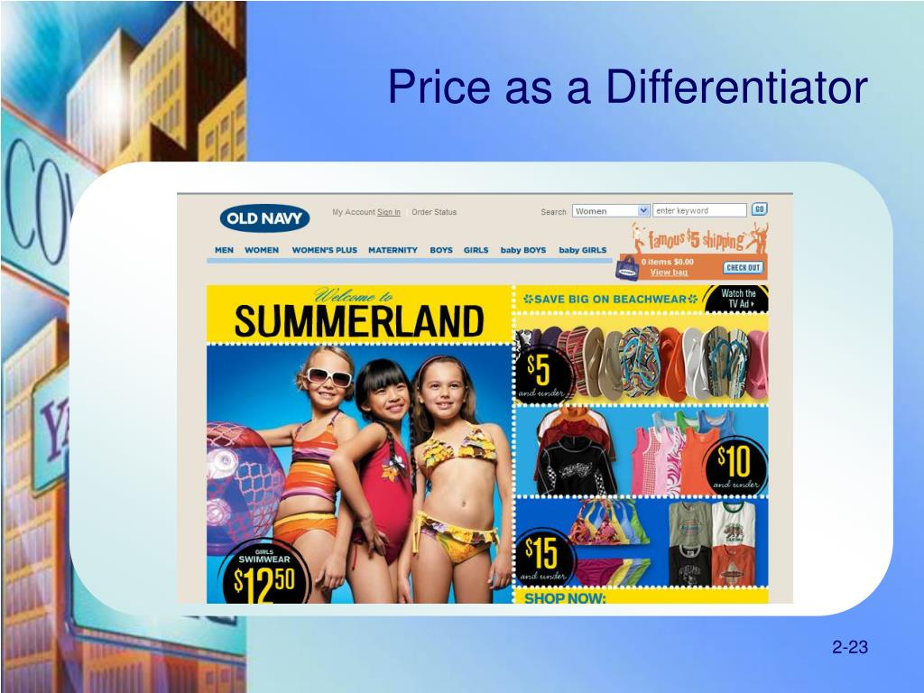 Price as a Differentiator