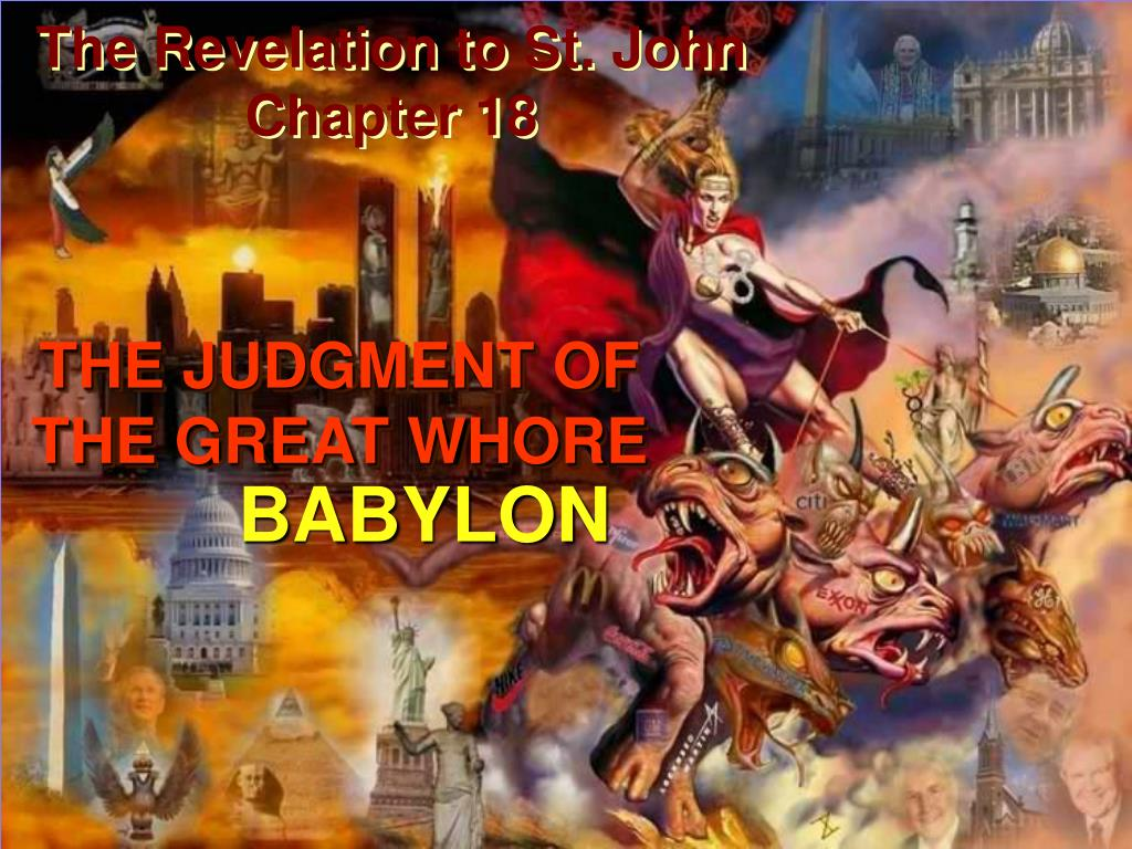 the revelation to st john chapter 18 l.
