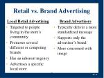 retail vs brand advertising