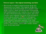 rational appeal use logical reasoning use facts