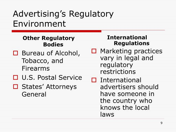 Other Regulatory Bodies