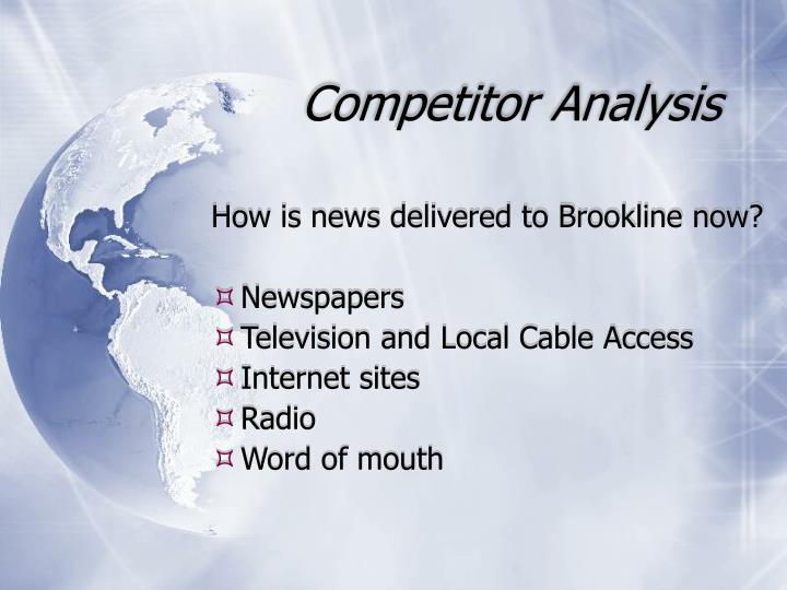 Competitor Analysis
