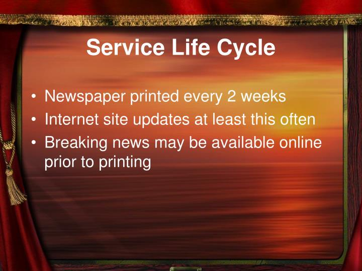 Service Life Cycle