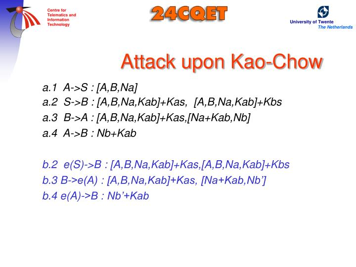 Attack upon Kao-Chow