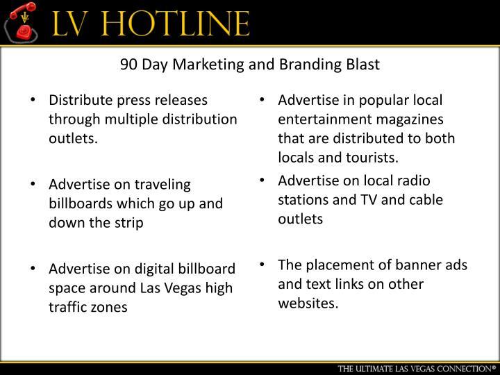 90 Day Marketing and Branding Blast
