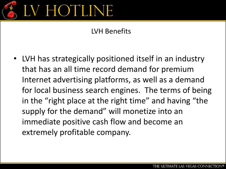 LVH Benefits