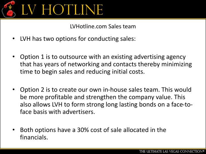 LVHotline.com Sales team