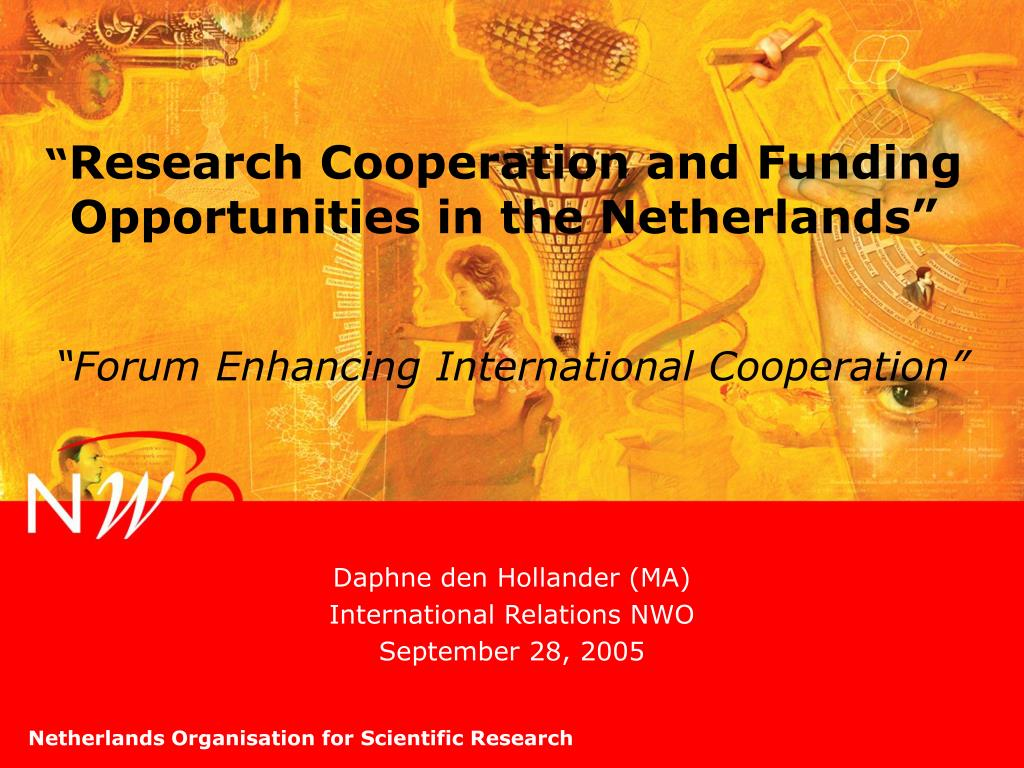 research cooperation and funding opportunities in the netherlands l.
