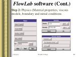 flowlab software cont22