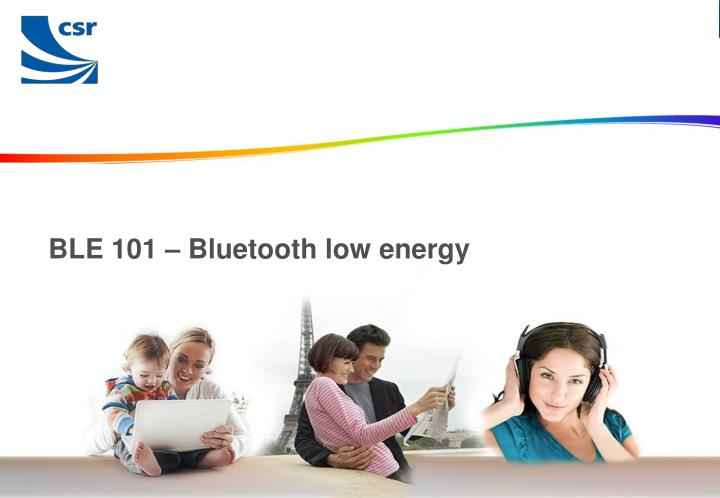 ble 101 bluetooth low energy n.