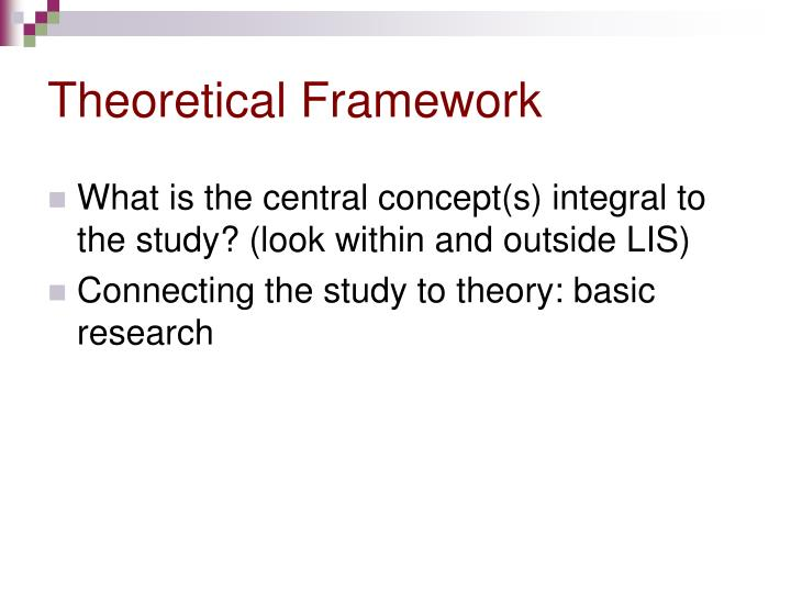 Theoretical framework2