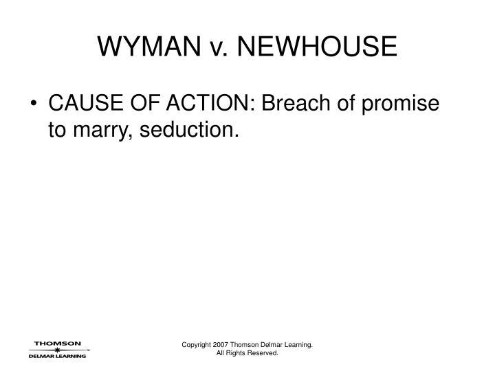 Wyman v newhouse3