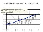routed address space 8 corrected